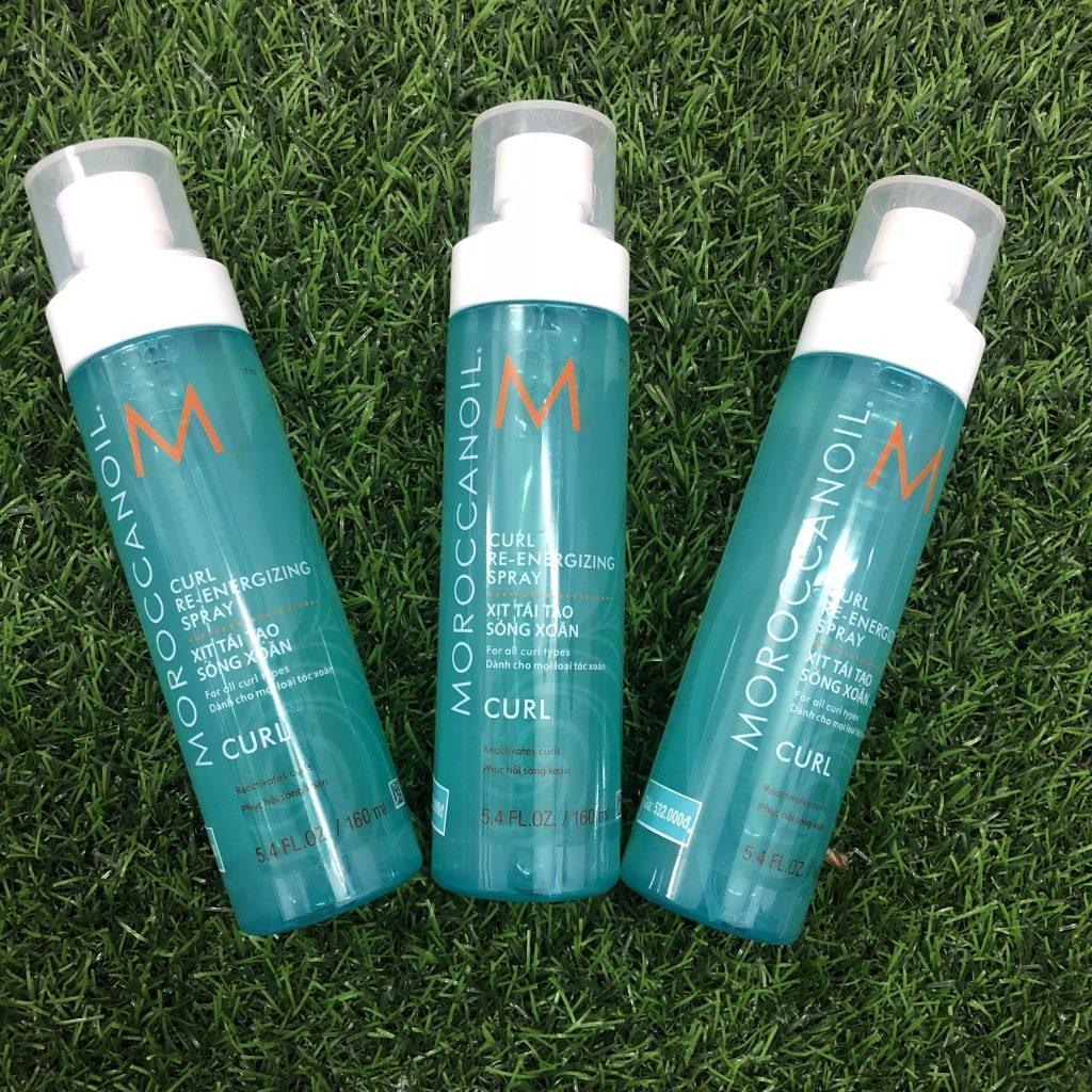 Xịt tái tạo sóng xoăn Curl Re-Energizing Spray Moroccanoil 160ml (2)