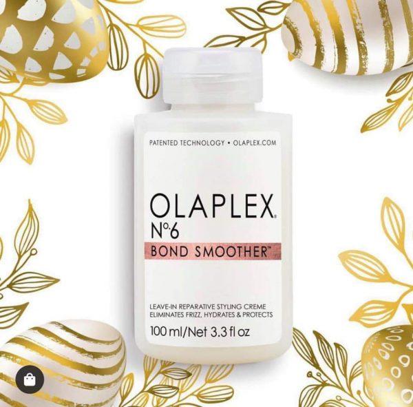Kem xã khô hàn gắn liên kết tóc Olaplex số 6 Bond Smoother 100ml
